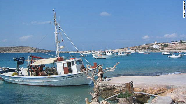 Koufonisia Small Cyclades islands Greece