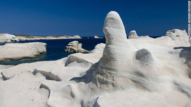 Milos Cyclades Greece