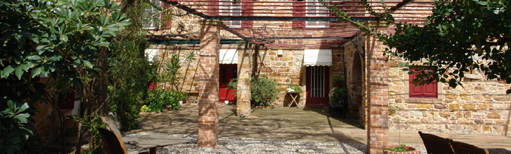 Chios Campos Chios manor houses map photos sightseeing information