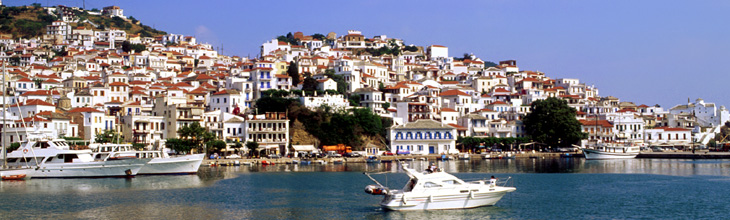 Tourist guide of Skopelos, Skopelos Greece, hotels, rooms, offers, map