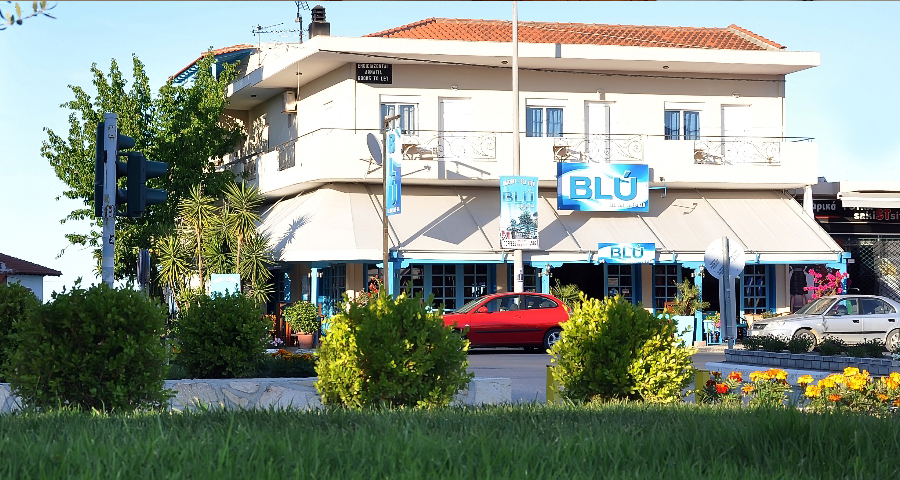 The Blύ Apartments Are Located In Center Of Kallithea Halkidiki Close To Park They Have Balconies With Sea View And Fully Equipped