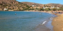 Galissas beach in Syros island