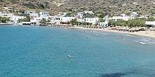 Kini beach in Syros island