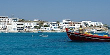 Koufonisia, exotic colors and calmness
