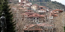 The traditional and picturesque Metsovo