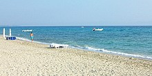 Polychrono beach in Halkidiki