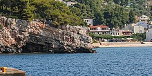 Rousoum Gialos beach in Alonissos island