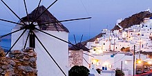 Three greek islands on the top destinations of Vogue