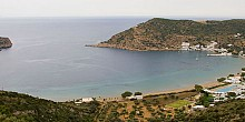 Vathi beach in Sifnos island