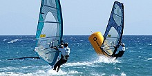 Water sports in Paros island
